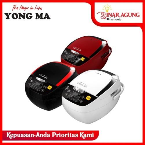 Foto Produk (HARGA PROMO) MAGIC COM YONG MA / YONGMA YMC-801 RICE COOKER 2L - Hitam dari sinar agung electronic