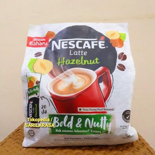 Foto Produk Eceran TERMURAH!! Nescafe Latte Hazelnut dari Sarilarasa