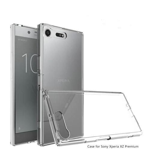 Foto Produk Case Sony Xperia XZ Premium Case Hybrid belakang Keras Acrylic Covered dari Ammar.cell