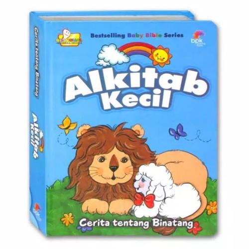 Foto Produk Buku Alkitab Kecil Cerita Binatang. Baby Bible Stories. Alkitab Anak dari Little Ivy