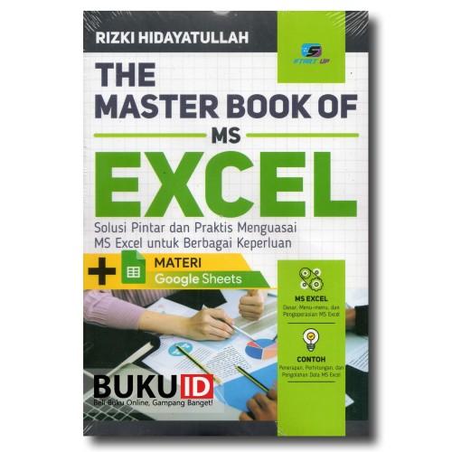 Foto Produk Buku The Master Book of MS Excel dari Buku ID