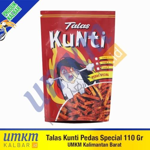 Foto Produk Talas Kunti Pedas Special 110 gr-Camilan Khas Pontianak Kalbar dari umkmkalbar.id
