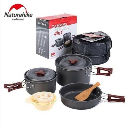 Foto Produk Cooking Set Naturehike Lengkap // Nesting Naturehike Isi Banyak dari Omah Alas Adventure