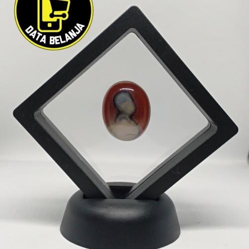 Foto Produk Hiasan Batu Gambar Asli Unik 3D dari Data Belanja