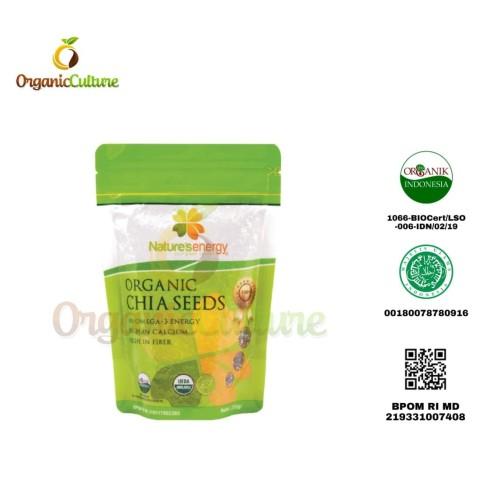 Foto Produk Nature's Energy Organic Chia Seeds 100gr dari Organic Culture