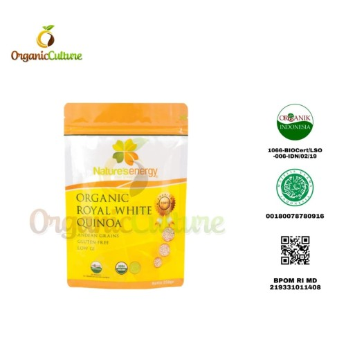 Foto Produk Nature's Energy Organic Royal White Quinoa 250gr dari Organic Culture