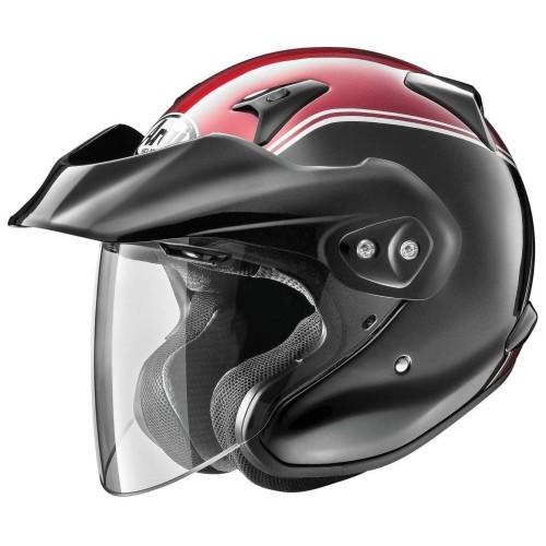 Foto Produk Arai SNI CT-Z Gold Wing Original Helm Half Face - Black Red - XL dari Arai Indonesia