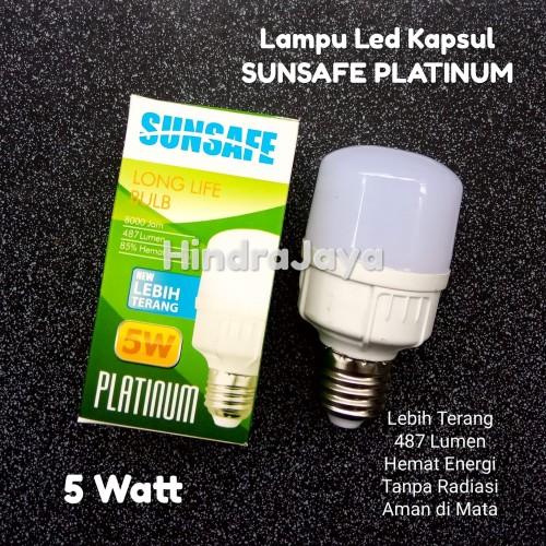 Foto Produk Lampu Led Kapsul 5W Merk Sunsafe Platinum dari Hindrajaya