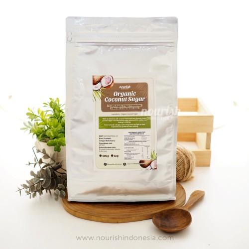 Foto Produk Nourish Indonesia, Organic Coconut Sugar 1kg dari Nourish Indonesia
