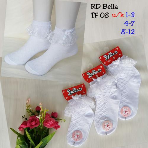 Foto Produk kaos kaki renda anak putih / kaos kaki anak perempuan renda putih dari Mysocksjakarta