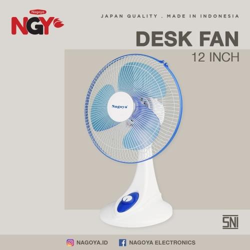Foto Produk Kipas Angin Meja / Duduk NAGOYA (Desk Fan) 12in - NG12DF dari Nagoya Electronics