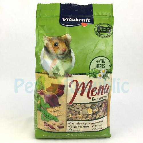 Foto Produk Makanan Hamster Vitakraft Premium Menu Hamster 1kg dari Pet Republic