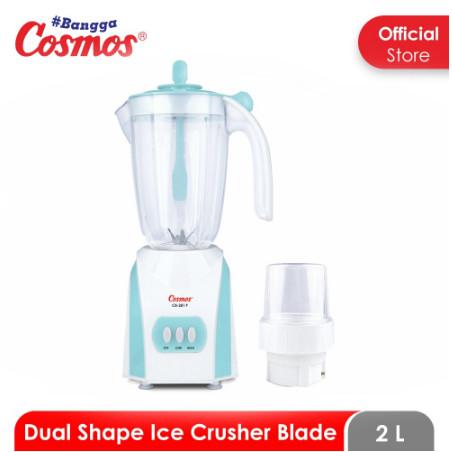 Foto Produk Cosmos Blender Plastik 2 Liter CB-281 P / CB281 P / CB 281 P - BIRU dari SUN ELECTRIC