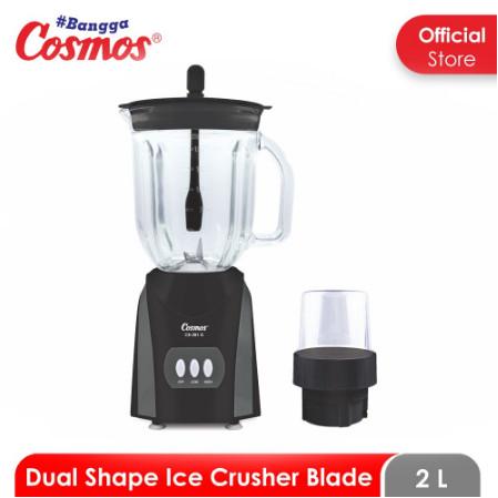 Foto Produk Cosmos Blender Kaca / Glass 2 Liter CB-281 G / CB 281 G - Hitam dari SUN ELECTRIC