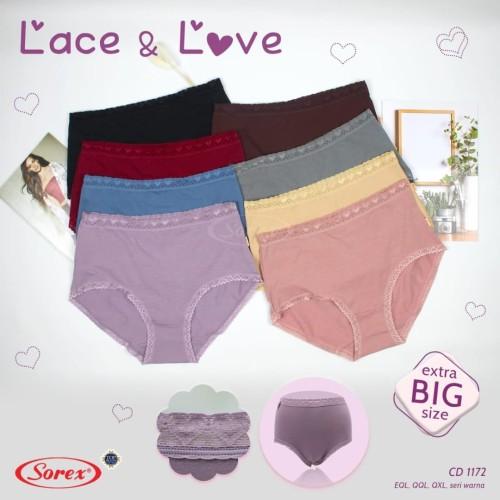 Foto Produk celana dalam wanita extra big size katun sorex 1172 uk EQL QQL QXL - Eql dari fjj mart