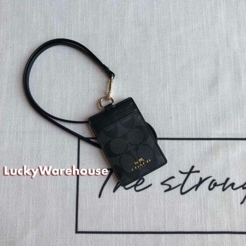 Foto Produk Coach Signature ID Tag Lanyard - Original 100% dari LuckyWarehouse
