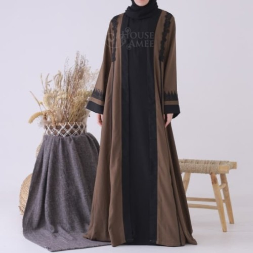 Foto Produk Safi Long Outer Dark Olive by house of amee original dari SPEED_DEALS