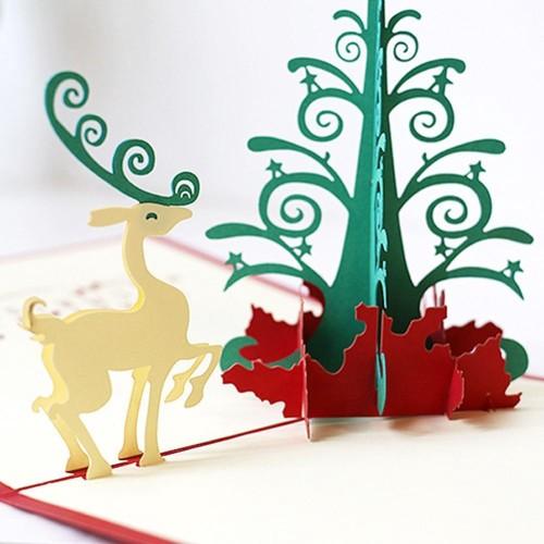 Jual Kartu Ucapan Selamat Natal 3d Handmade Desain Tereoscopic B3t1 Jakarta Pusat Ironamono Tokopedia