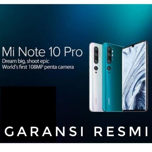 Foto Produk Xiaomi Mi Note 10 Pro TAM Garansi Resmi - Hitam dari Laku8pedia