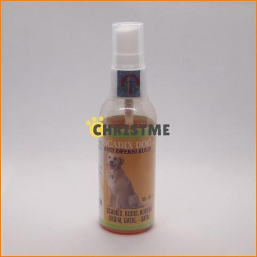 Foto Produk SCADIX Dog 60 ml , Scabies,kudis,eksim,koreng,gatal2 pada Anjing dari Christme