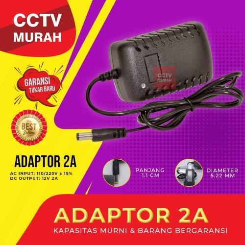 Foto Produk Adaptor CCTV 12V 2A Termurah dari CCTV-MURAH