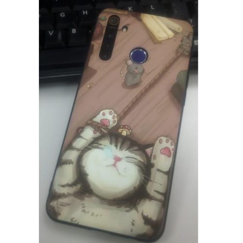 Foto Produk Soft Case Realme 5 Pro - Cat dari DHEA Fleur