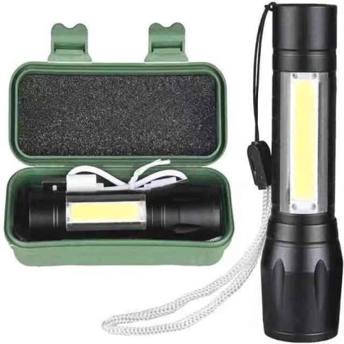 Foto Produk Senter Swat Mini Zoom / Senter Police LED- U3 dari ANQI LEATHER