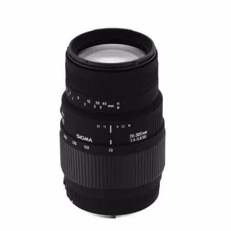 Foto Produk Lensa Sigma 70-300 F/4-5.6 DG MACRO For Canon/Nikon. dari ONLINE_STORE99