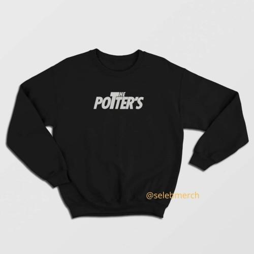 Foto Produk Sweater The Potters Bordir - Hitam, M dari Seleb Merch
