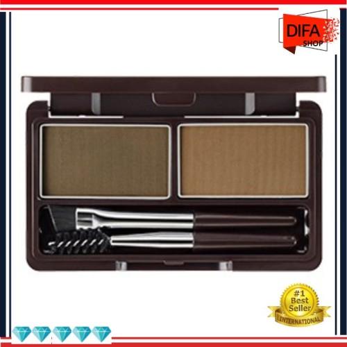 Foto Produk F59 The Saem Eco Soul Eyebrow Kit dari Difa Grosir