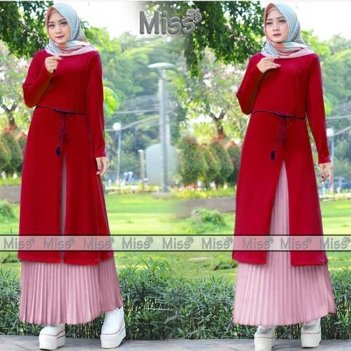Foto Produk Dress Muslimah Miss set red dari -RISESTORE-