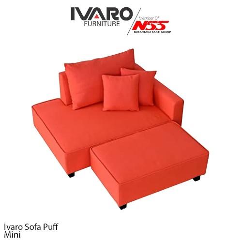 Foto Produk Ivaro Sofa L Mini Puff dari Ivaro Furniture