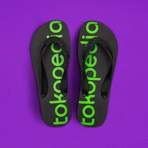 Foto Produk [Tokopedia x Swallow] - Sandal Ikon Tokopedia - 36 dari Tokopedia Merchandise