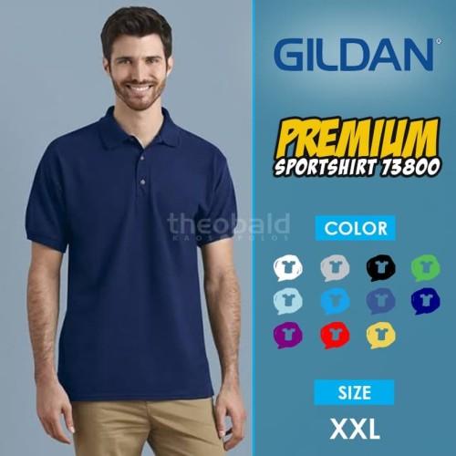Foto Produk Kaos Polo Shirt Gildan 73800 Sport Shirt Original SIZE XXL dari Kaos Polos Theobald