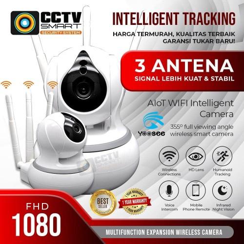 Foto Produk IP CAM / Babycam 720P Wifi CCTV wireless dari CCTV SMART
