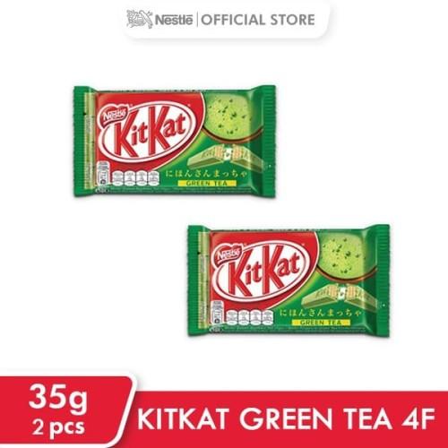 Foto Produk KITKAT Green Tea 4F 35g 2 pcs dari Nestle Indonesia