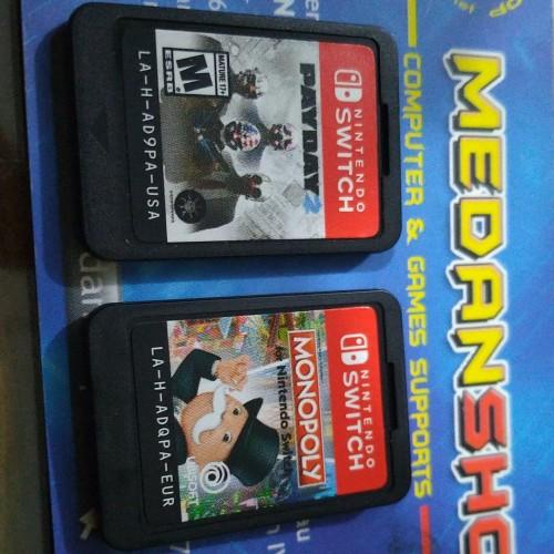 Foto Produk (Nintendo Switch) Monopoly + Payday 2 dari MEDANSHOP.net
