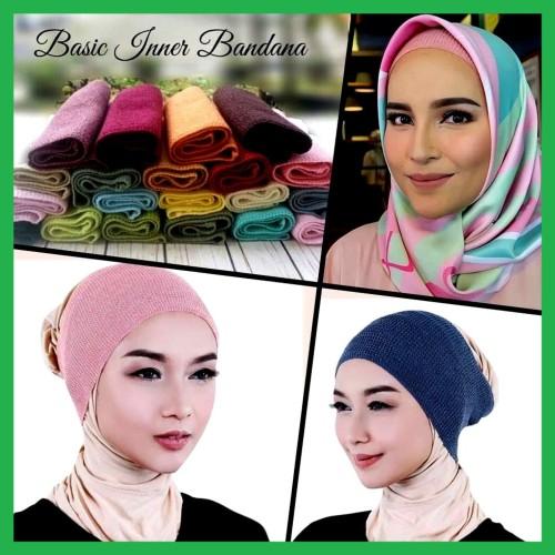 Foto Produk Ciput rajut Inner dalaman hijab Bandana Rajut dari Cileunyi Collections