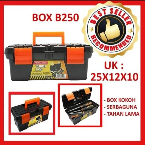 Foto Produk Tool Box / Kenmaster Mini Tool Box B250 dari Gold-Mart