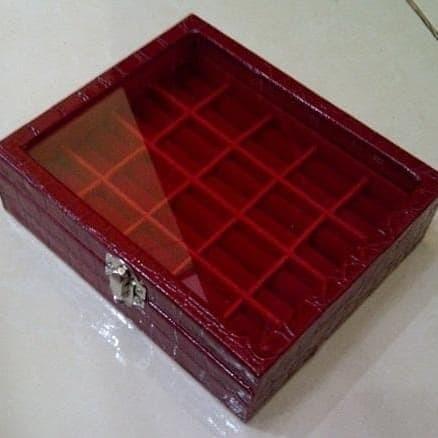 Foto Produk Kotak Cincin Batu Akik Isi 20 Motif Ular Luxury dari Robbani Jaya Abadi