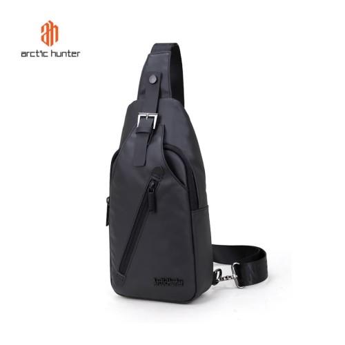 Foto Produk ARCTIC HUNTER XB13006 Crossbody Bag - Tas Selempang BLACK dari ARCTIC HUNTER