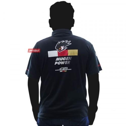 Foto Produk Mugen Power Honda Racing Polo Shirt Black│Polo Mugen Ori - SIZE L dari PERMAISURI