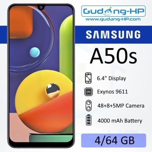 Foto Produk Samsung Galaxy A50S 4/64 GB Garansi Resmi SEIN - Hitam dari Gudang-HP