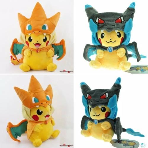 Foto Produk Boneka Pikachu Pokemon Charizard / Boneka Anak Pokemon dari R&M Toys
