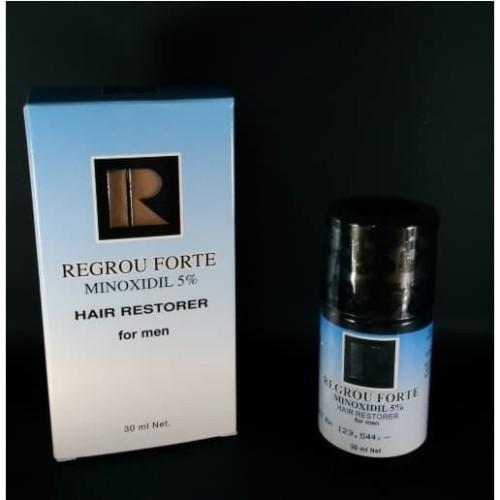 Foto Produk Regrou Forte Minoxidil 5% Penumbuh Rambut Pria - Non Bundling dari Vellus Haircare