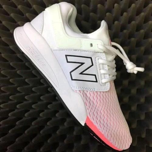 Termurah New Balance 247 White Pink Premium Original