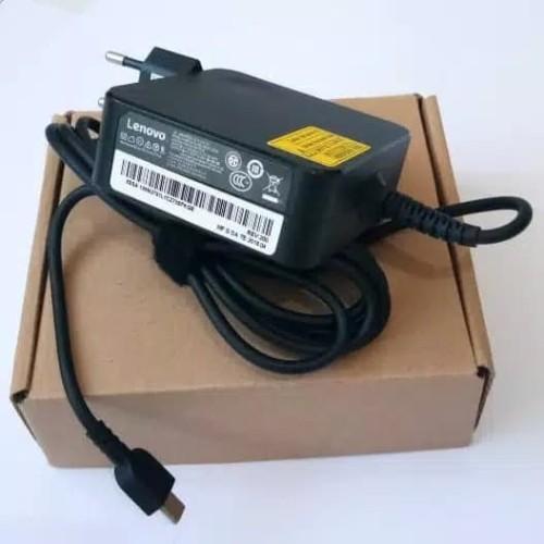 Foto Produk Adaptor Charger Lenovo Thinkpad L380 L480 L580 X270 X280 (USB C) ORI dari AJIE COMP