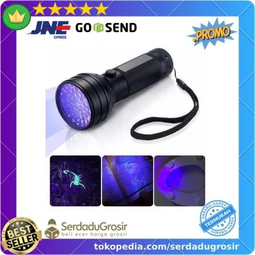 Foto Produk Lampu Senter Ultraviolet UV 400nm 51 LED (Cek Sidik Jari Uang Kertas) dari SERDADU GROSIR