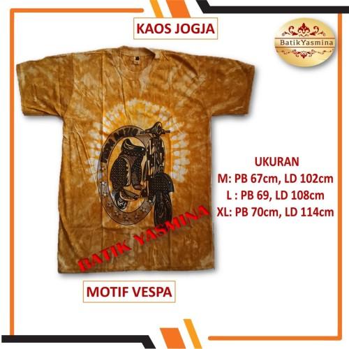 Foto Produk Kaos Batik Jogja Bahan Katun - M dari Batik Yasmine