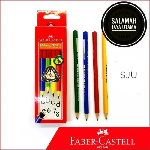 Foto Produk Pensil Faber Castell Junior 2B (Triangular) dari SALAMAH JAYA UTAMA